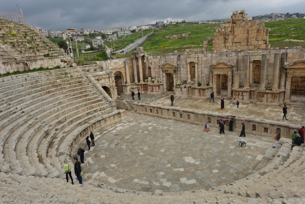 Theater in Jerash