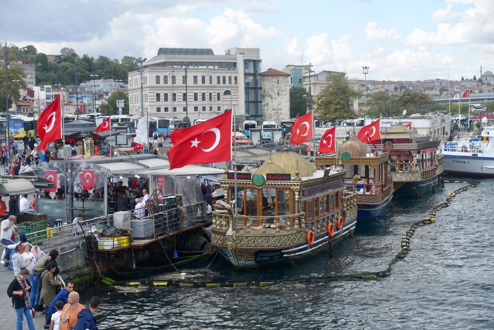 Istanbul Boote